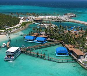 The Blue Lagoon Island in Nassau Bahamas